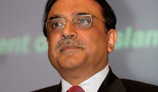 Pakistani President Asif Ali Zardari