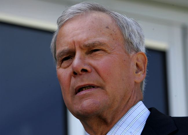 Former NBC News anchor Tom Brokaw (Associated Press) **FILE**