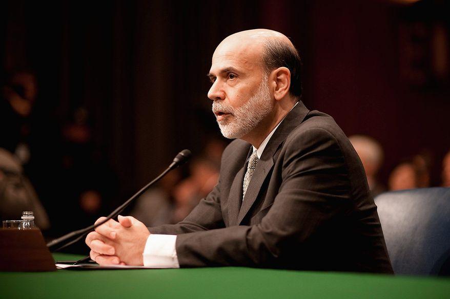 ** FILE ** Federal Reserve Chairman Ben S. Bernanke