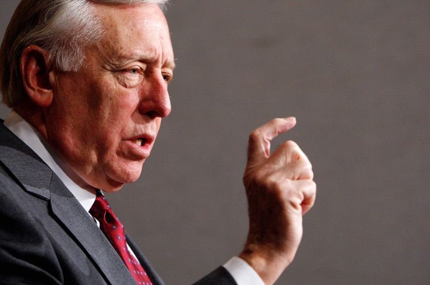 ** FILE ** House Majority Leader Steny H. Hoyer, Maryland Democrat (AP Photo)