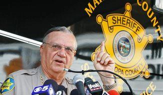 Maricopa County, Ariz., Sheriff Joe Arpaio (AP Photo)