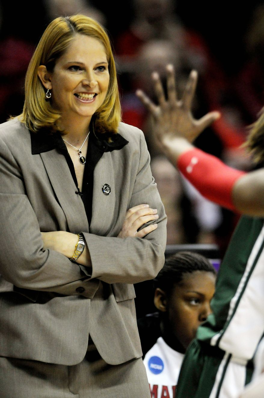 Peter Lockley / The Washington Times file Former Maryland athletic director Debbie Yow.