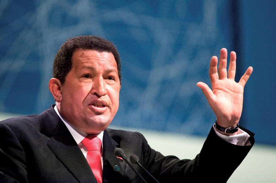 **FILE** Hugo Chavez