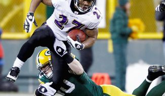 Associated Press Ravens running back Ray Rice ranks second in the NFL this season with 1,693 yards from scrimmage.