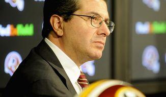 Joseph Silverman / The Washington Times file Redskins owner Dan Snyder.