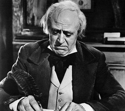 "Alastair Sim's 1951 portrayal of ""Scrooge"" is the definitive one."