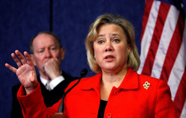 ASSOCIATED PRESS Sen. Mary L. Landrieu's $300  million in dollars matched by the government for Medicaid services for Louisiana is one of the sweetheart deals in the health care bill.