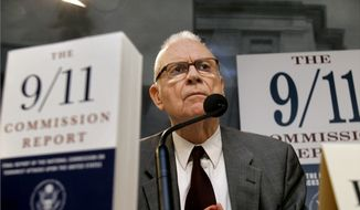 ** FILE ** Lee H. Hamilton, former Democractic congressman from Indiana and vice chairman of the 9/11 Commission. (AP Photo/J. Scott Applewhite)
