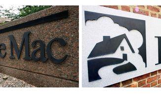 ** FILE ** Mortgage giants Fannie Mae and Freddie Mac (Associated Press)