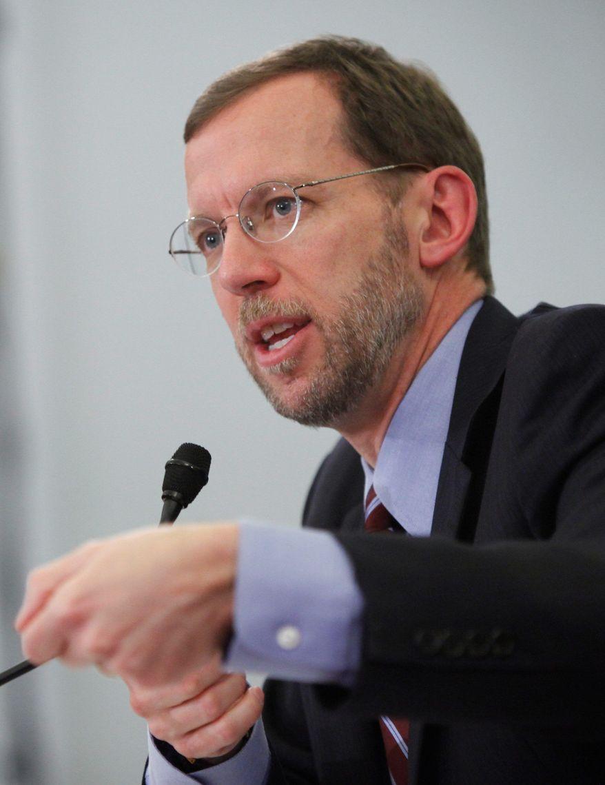 Congressional Budget Office Director Douglas W. Elmendorf (Associated Press)
