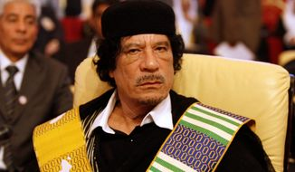 **FILE** Moammar Gadhafi (Associated Press)