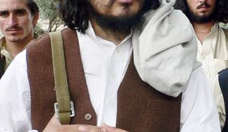**FILE** Pakistani Taliban chief Hakimullah Mehsud (Associated Press)