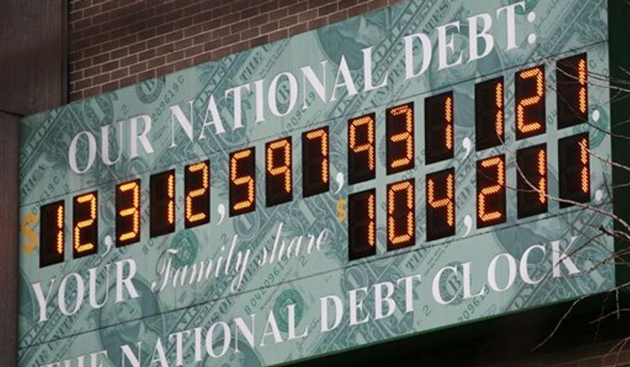 The National Debt Clock A Privately Funded Estimate Of