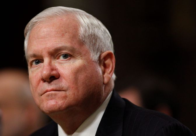 **FILE** Secretary of Defense Robert M. Gates