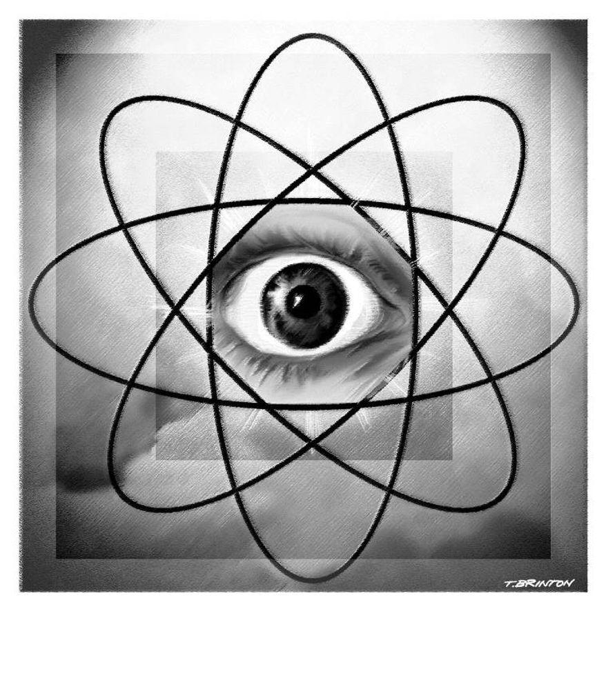 Illustration: Nuclear eye by Tim Brinton.