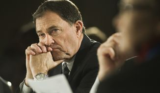 **FILE** Utah Gov. Gary Herbert. (Associated Press)