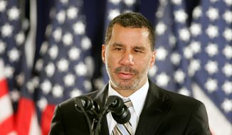 **FILE** New York Gov. David Paterson (Associated Press)