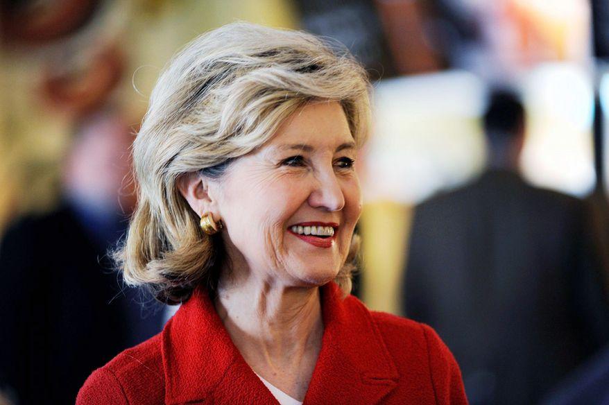 Sen. Kay Bailey Hutchison, Texas Republican