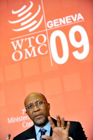 ASSOCIATED PRESS PHOTOGRAPHS U.S. Trade Representative Ron Kirk's hope that Congress might consider trade pacts with Panama, Colombia and South Korea before the end of the year is heavily conditional.