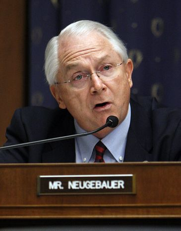 ** FILE ** Rep. Randy Neugebauer, Texas Republican, is pictured on Capitol Hill in Washington in January 2010.  (AP Photo/Pablo Martinez Monsivais)