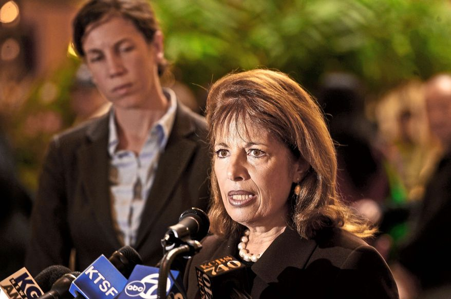 **FILE** Rep. Jackie Speier, California Democrat. (Associated Press)