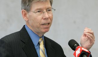ASSOCIATED PRESS PHOTOGRAPHS Bill McCollum, Florida's attorney general, is involved in the challenge. The Florida case cites a violation of the 10th Amendment, which reserves those powers not spelled out under the federal government in the Constitution to the state governments, and argues that the health care law's expansion of state Medicaid programs threatens state sovereignty.