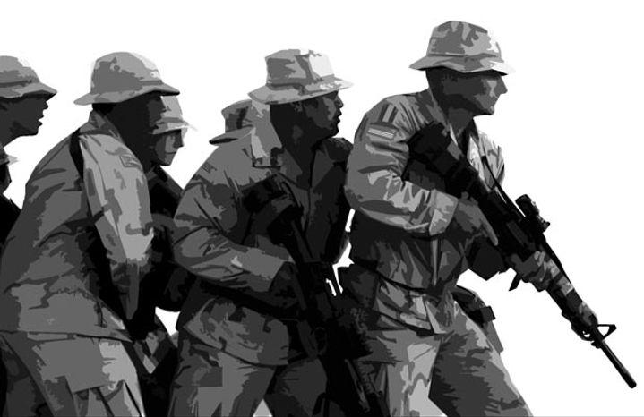 Illustration: Military.