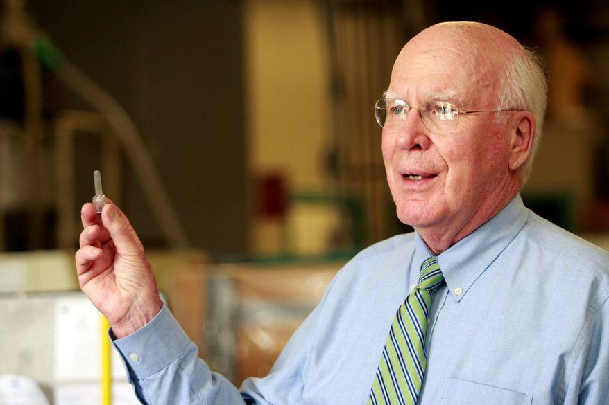 Sen. Patrick J. Leahy, Vermont Democrat (Associated Press)