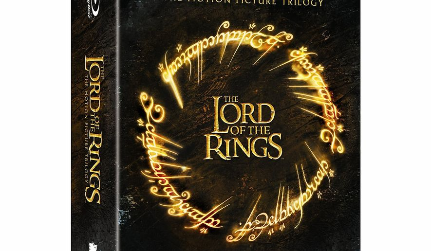 The Lord of the Rings: The Motion Picture Trilogy  from Warner Home Video