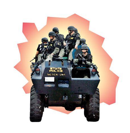 Illustration: Swat Team.