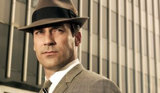 "Jon Hamm starred as advertising executive Don Draper in ""Mad Men,"" an AMC series which ran from 2007-2015. (AP Photo/AMC) **FILE**"