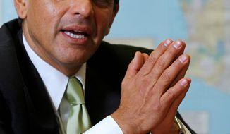 **FILE** Los Angeles Mayor Antonio Villaraigosa