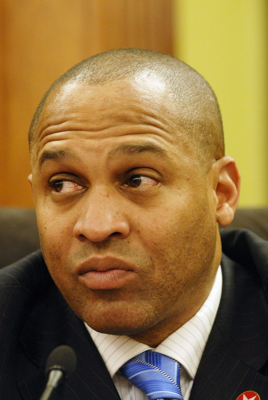 D.C. Council member Harry Thomas Jr. calls his proposal the District Tax Dollars Fairness Act of 2010. (The Washington Times)