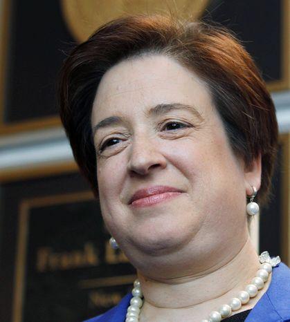 Supreme Court nominee Elena Kagan
