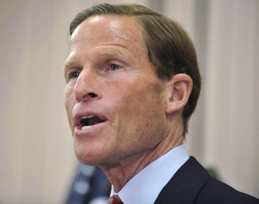 ** FILE ** Sen. Richard Blumenthal (AP Photo/Jessica Hill)