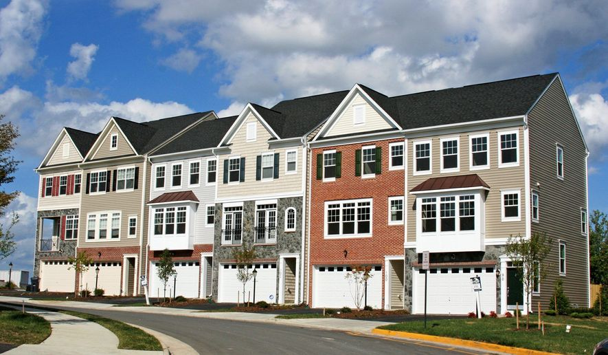 Brookfield Homes is building 550 town homes at Woodstream in Stafford.