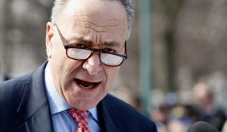 Sen. Charles E. Schumer, New York Democrat (AP Photo/Luis M. Alvarez)