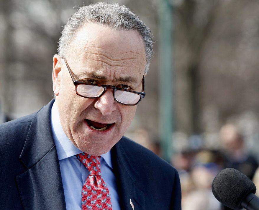Sen. Charles E. Schumer, New York Democrat (AP Photo/Luis M. Alvarez)