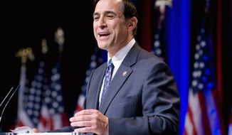 ** FILE ** Rep. Darrell Issa, California Republican, has called for a probe of White House discussions with Rep. Joe Sestak. (AP Photo)
