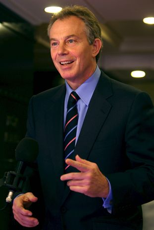 **FILE** Tony Blair
