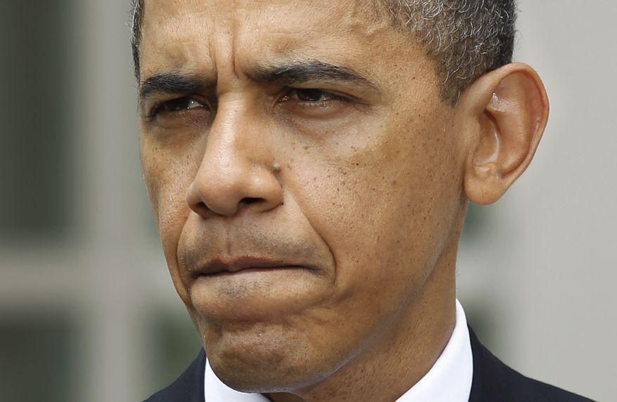 ASSOCIATED PRESS President Barack Obama speaks in the Rose Garden of the White House in Washington, Tuesday, June 1, 2010.