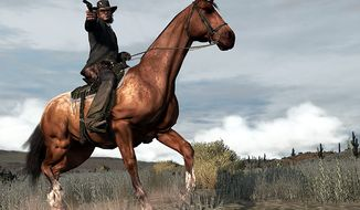 The American Wild West comes to life in Red Dead Redemption from Rockstar Games, for Xbox 360 and PlayStation 3.
