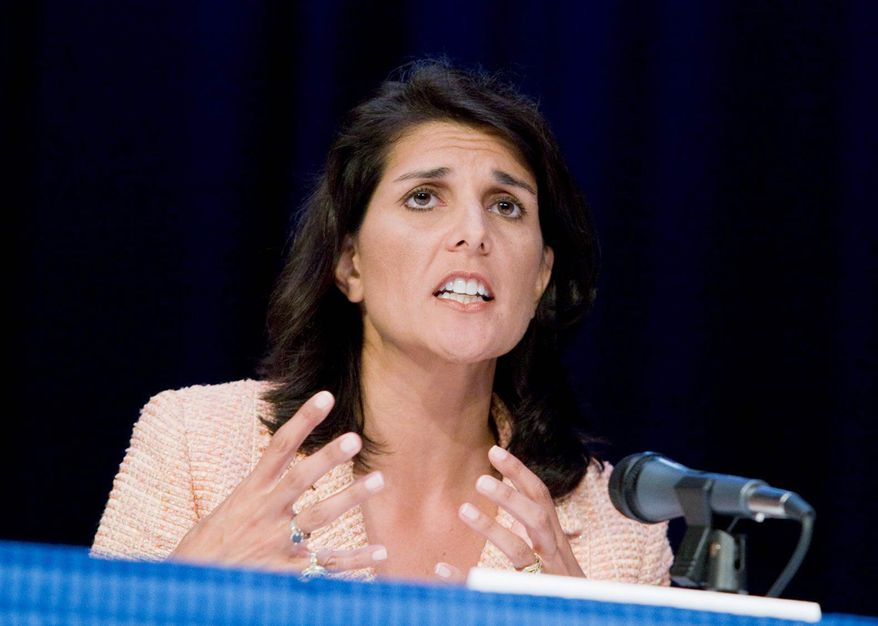 **FILE** South Carolina Gov. Nikki Haley (Associated Press)