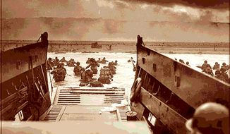 Illustration: Omaha Beach