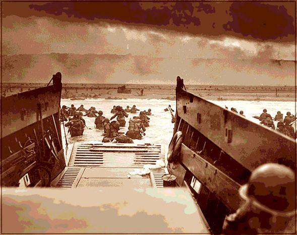 Illustration: Omaha Beach