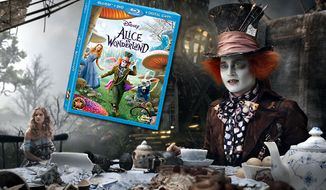 Johnny Depp stars as the Mad Hatter in Walt Disney Studios Home Entertainment's Alice in Wonderland in this file photo.