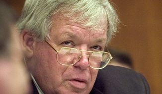 **FILE** House Speaker J. Dennis Hastert (The Washington Times)