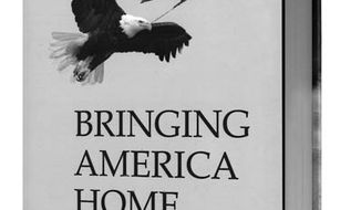 Book cover: Bringing America Home by Tom Pauken