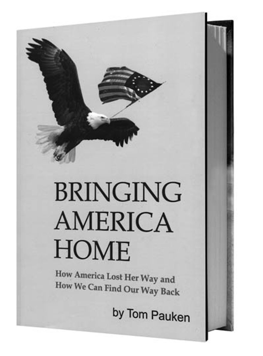 Book cover: Bringing America Home by Tom Pauken