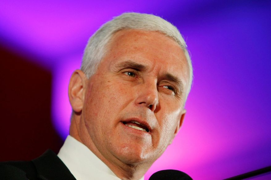 """Rep. Mike Pence said on the House floor that Turkey's actions are """"deeply troubling."""" (Associated Press)"""
